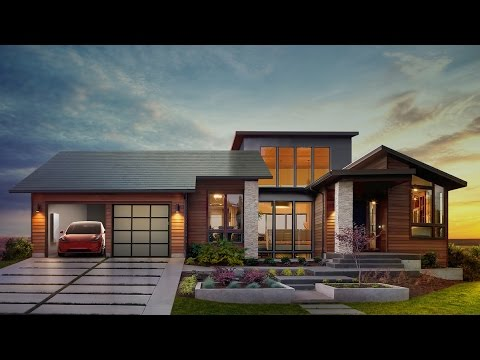 Tesla Unveils New Rooftop Solar Cells That Look Like Regular Shingles