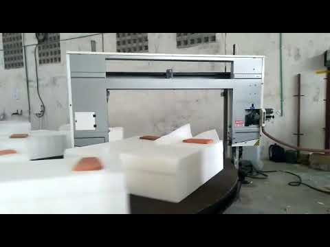 Circular Foam Cutting Machine
