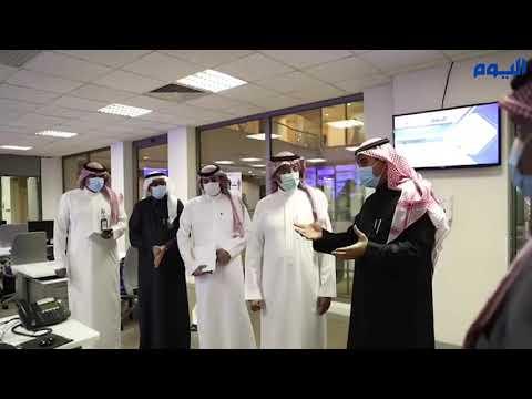 شاهد .. وزير الصناعة في غرفة أخبار «اليوم» الرقمي