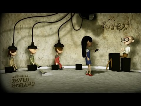 """CGI 3D Animated Short Film """"THE FOREST"""" – Dark Family Animation by Hochschule Augsburg"""