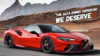 This Mid Engine Alfa Romeo GTAm Looks INSANE!