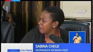 A conman who has been soliciting money from MPs has a 'special relationship' with Sabina Chege