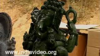 Stone carving from Orissa