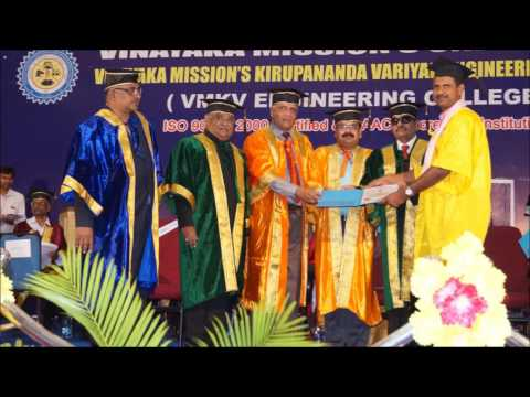 Vinayaka Mission's Kirupananda Variyar Engineering College video cover2