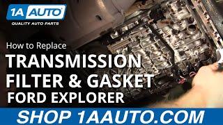 How to Replace Transmission Filter & Gasket Set 95-03 Ford Explorer SUV