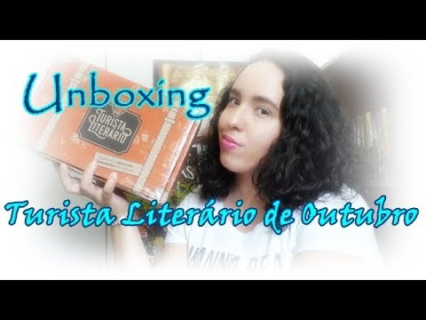 Unboxing Turista Literário de Outubro (2017) | Um Livro e Só