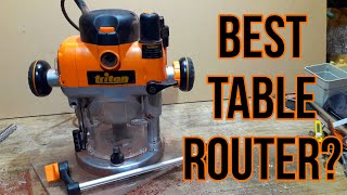 Triton 3.25HP Router Review | Is The TRA001 The Best Router For A Table?