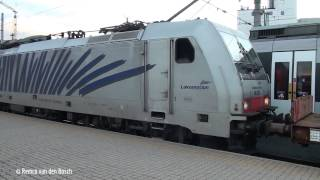 preview picture of video 'Trains at Innsbruck Hbf 9 august 2014'