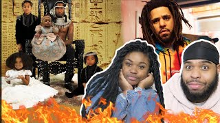Offset   How Did I Get Here (feat. J. Cole) FATHER OF 4 Album | REACTION!!!