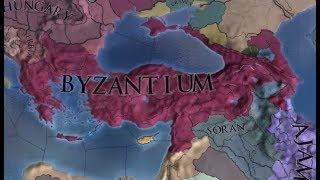 EUIV HRE World Conquest Timelapse 1444 - 1599 - Самые лучшие видео