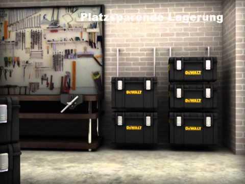 DeWalt Tough System D Transportbox