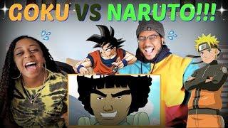 "SSJ9K ""Goku vs. Naruto Rap Battle!"" REACTION!!!"