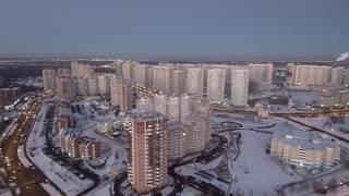 ПОЛЕТ на КВАДРОКОПТЕРЕ над МОСКВОЙ! | Xiaomi mi drone 4k
