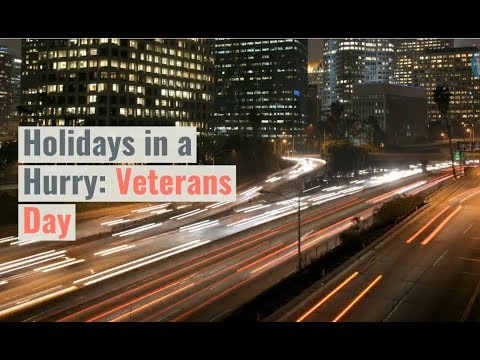 Holidays in a Hurry: Veterans Day