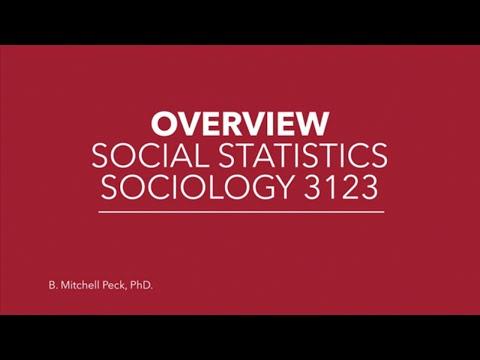 Social Statistics - Overview: Social Statistics - YouTube