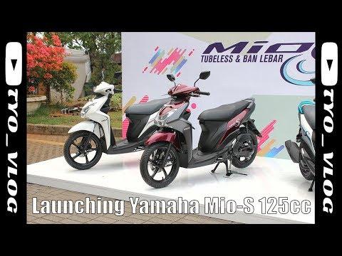 Launching + Test Ride Yamaha Mio S Pertama di Indonesia #57 | MotovlogIndonesia