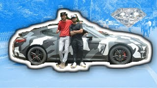 Porsche with Diamonds | Rich kids of India | IPE exhaust Vlog