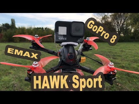 EMAX Hawk Sport with GoPro HERO 8