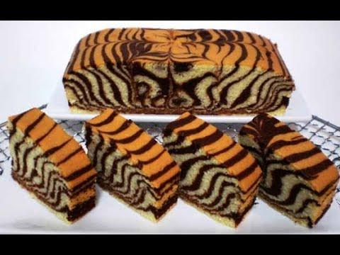 Video Resep Bolu Zebra Panggang Anti Gagal