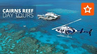 Cairns is the gateway to the Great Barrier Reef. There are many Reef Day Tour options departing Cairns daily.