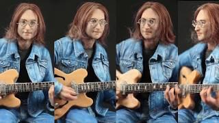 Sculpting John Lennon