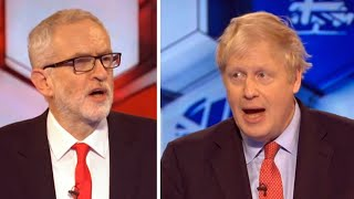 video: BBC election debate: Boris Johnson and Jeremy Corbyn clashed in final head-to-head of general election - live