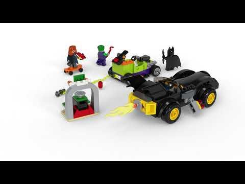 Конструктор LEGO Super Heroes «Бэтмен против Джокера: погоня на Бэтмобиле» 76180 / 136 деталей