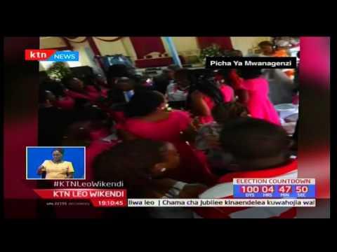 Mfanyikazi wa KTN Gladys Kariuki leo alifunga pingu za maisha na mchumba wake Paul Musembi