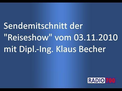 Radiobeitrag Reiseshow