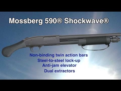 Mossberg 590 Shockwave Pump Action For Home Defense