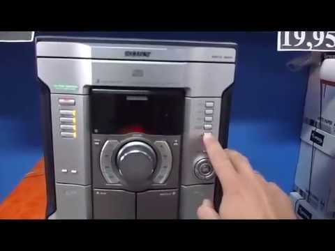 Minicadena SONY MHC-RG220 con altavoces Sony Hybrid Dual Woofer SS-RG440