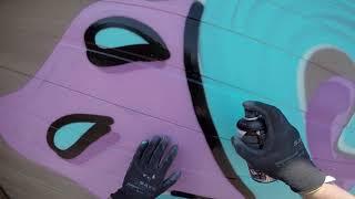 Shutter Door RAW Graffiti - Sweet As SUGAR