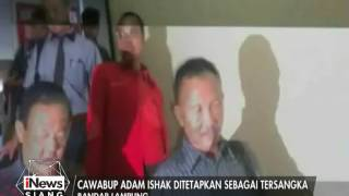 Cawabup Mesuji Adam Ishak Ditetapkan Sebagai Tersangka  INews Siang 17/01