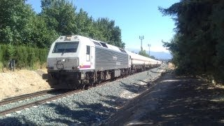 preview picture of video 'Trenes por Maracena (Granada) 2 y 3 Septiembre // Trains at Maracena 2nd and 3rd September'