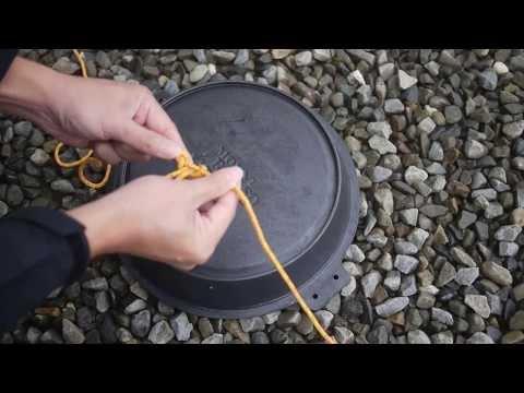 露營繩結教學 - 掛物繩結