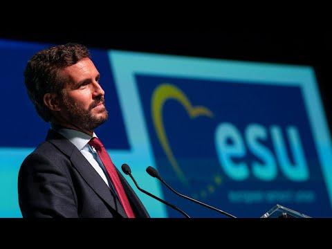 Pablo Casado clausura el XXV Congreso extraordinar...