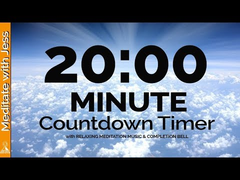 15 Minute MEDITATION Countdown Timer QUIET YOUR MIND With