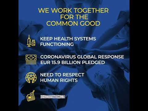 ASEM against Coronavirus - animated infographic