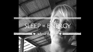 Better Sleep = More Energy + Motivation