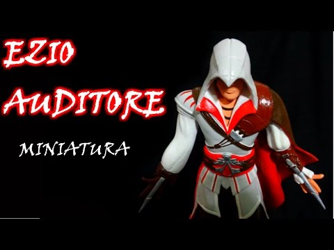 Como fazer um Ezio Assassins Creed (Tutorial com Fotografias)