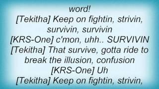 Krs-one - Survivin' Lyrics