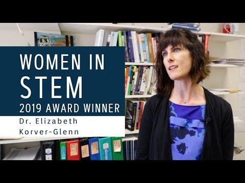 Advance at UNM 2019 Women in STEM Awards: Dr. Elizabeth Korver-Glenn