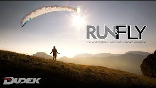 RUN&FLY - the lightest paraglider in the world