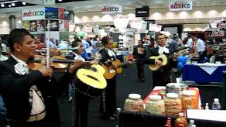 Mariachis Perform at the Dolores Chili Booth