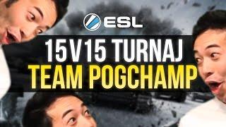 ESL 15v15 turnaj: Team PogChamp vs FAME (kvalifikace)