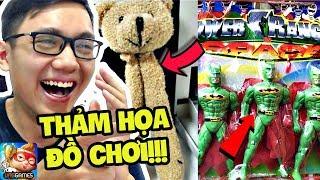 NHỮNG THẢM HỌA ĐỒ CHƠI CHO TRẺ CON!!! (Sơn Đù Vlog Reaction)