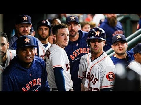 Live Look Into Astros Dugout Stealing Signs in 2017 ALCS