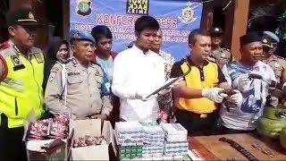 Polisi Bekuk Komplotan Perampok Toko Sembako di Pamulang