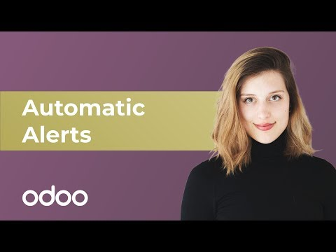 Automatic Alerts | odoo Subscription