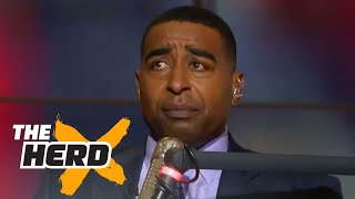 Cris Carter shares stories about playing against Michael Jordan as a teenager | THE HERD - Video Youtube